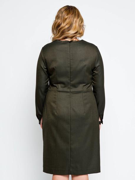 Джоли платье хаки
