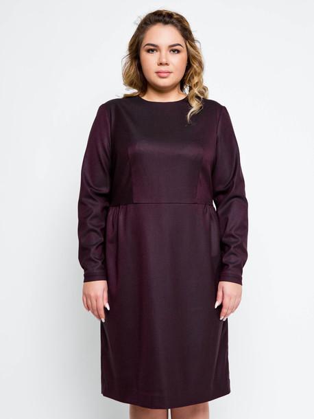 Джоли платье винный