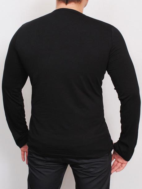 ORLAN Long футболка длинный рукав черный