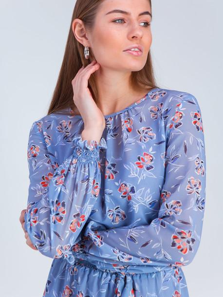 Эннио платье голубая лазурь