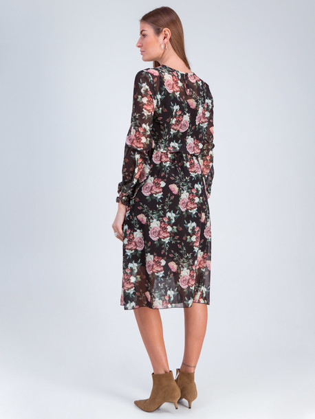 Эннио платье оникс роза