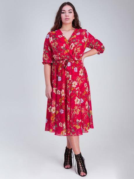 Эммануэле платье красный