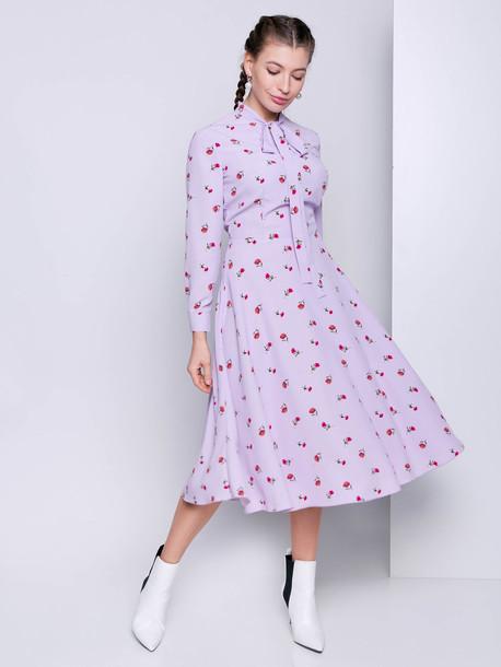 Франческо платье сирень