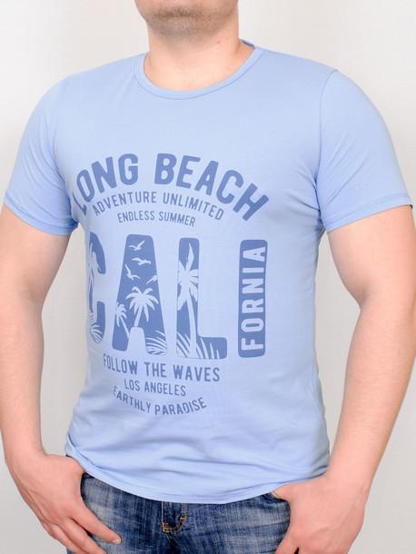 PARADISE футболка бирюза