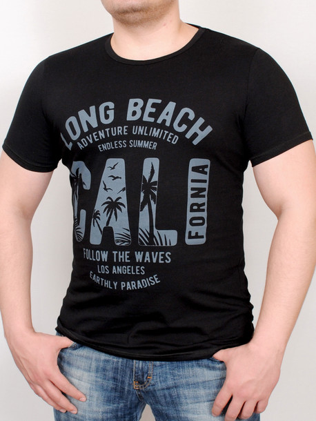 PARADISE футболка черный