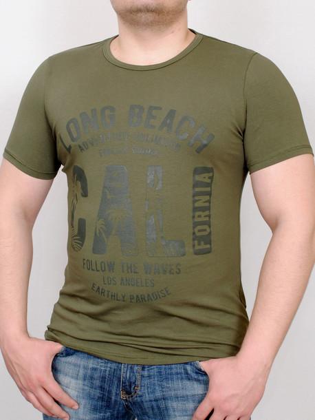PARADISE футболка хаки