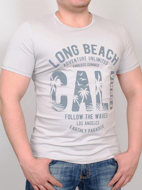PARADISE футболка светло-серый