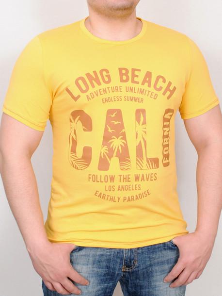 PARADISE футболка желтый