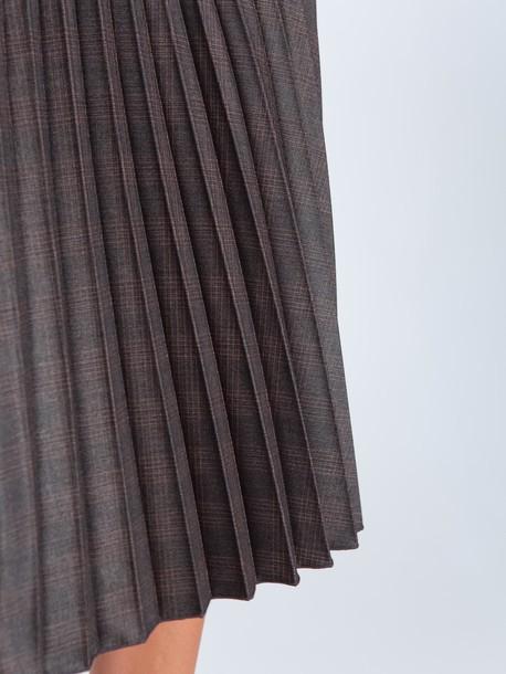 Остара юбка кофейный