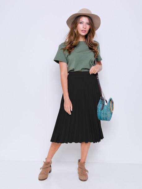 Маэлла юбка оникс