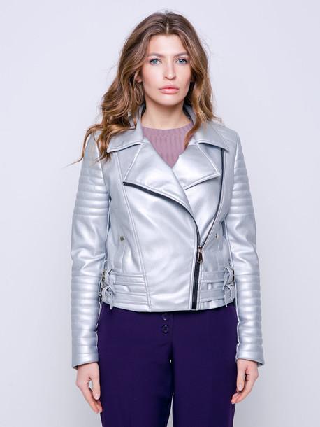 Рокси GRAND куртка серебро