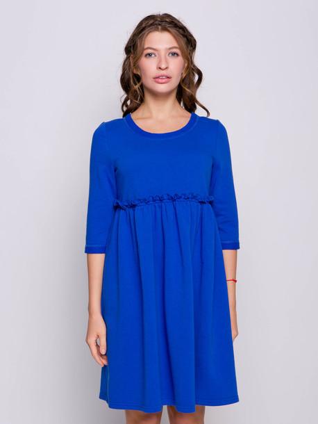 Дария платье васильковый