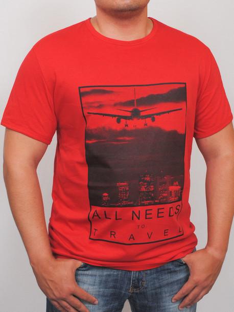 BigTravel футболка красный