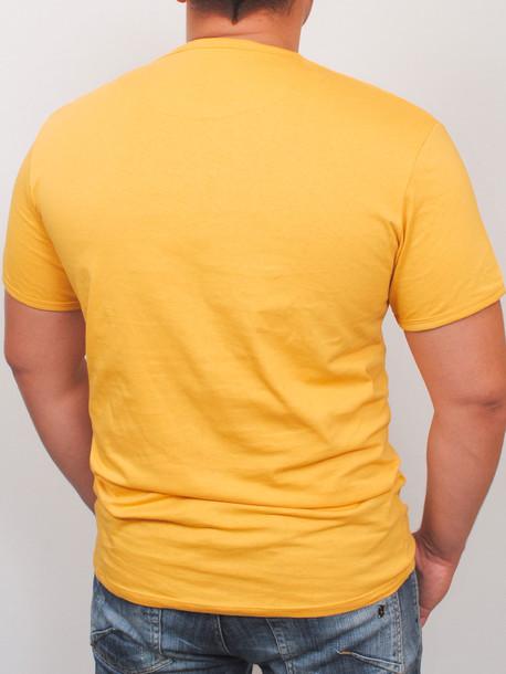 OCEAN футболка горчица