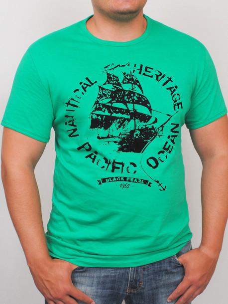 OCEAN футболка салатовый