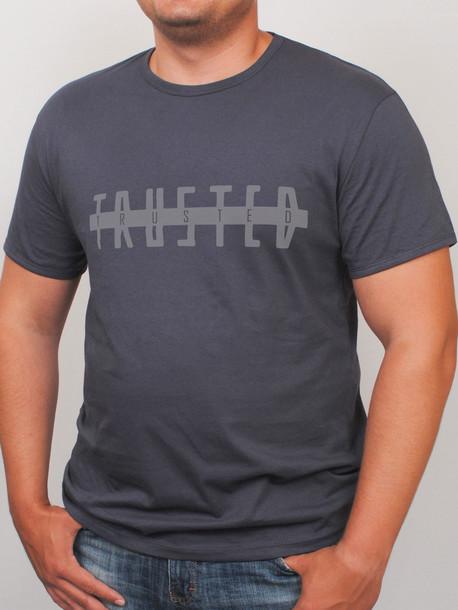 TRUSTED футболка графит