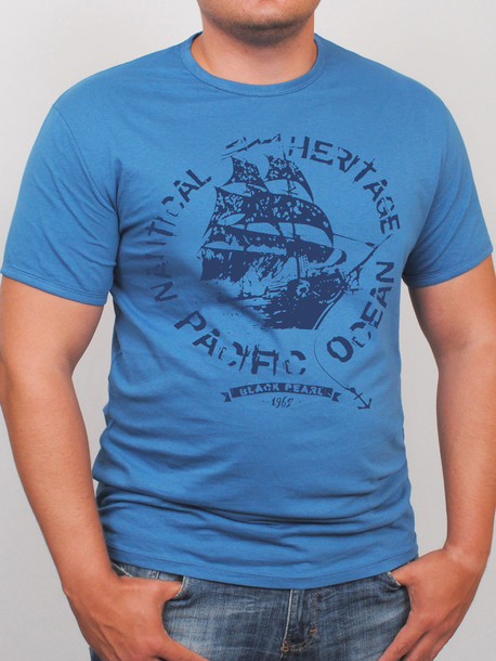 BigOCEAN футболка джинс