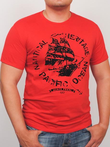 BigOCEAN футболка красный
