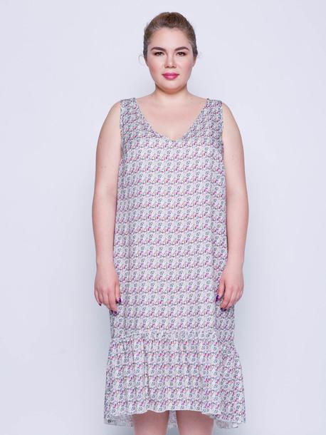 Мирей платье мильфлёр