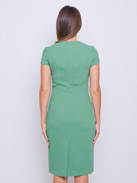 Селеста платье оливка