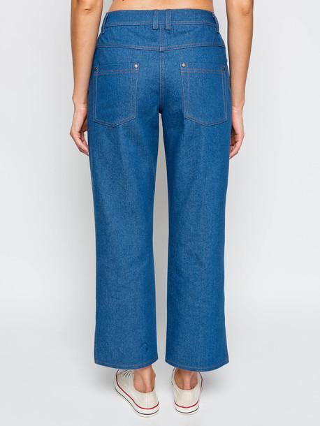 Торос джинсы сизый