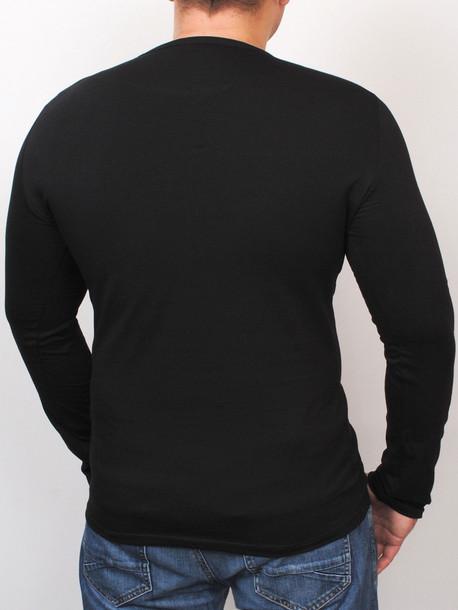 OCEAN long футболка черный