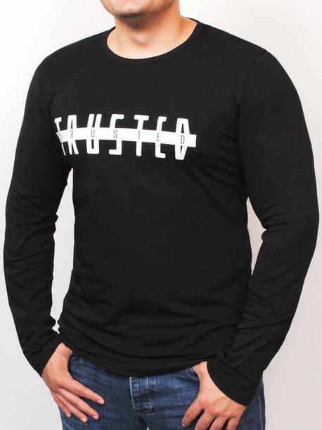 TRUSTED long футболка черный