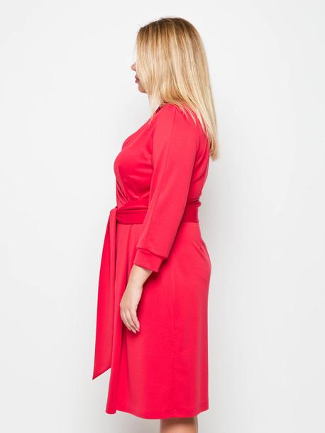 Сион платье кармин