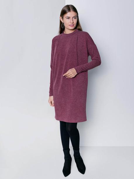 Лейсан платье вишня