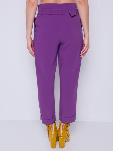 Мехти брюки лиловый
