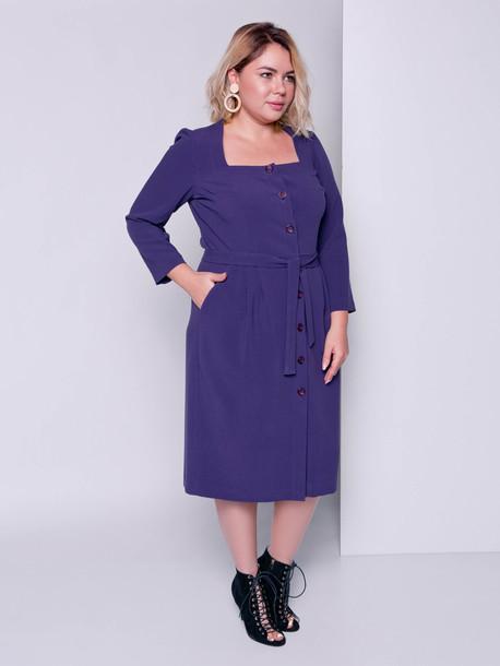 Таниэль TRAND платье баклажан