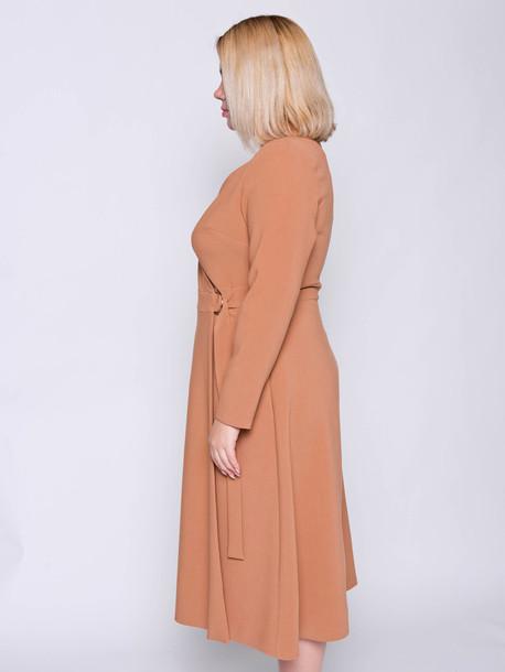 Каллисто платье охра