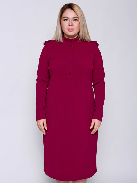 Вики TRAND платье рубин