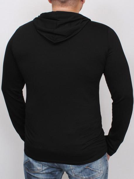LS Sport фуболка длинный рукав черный