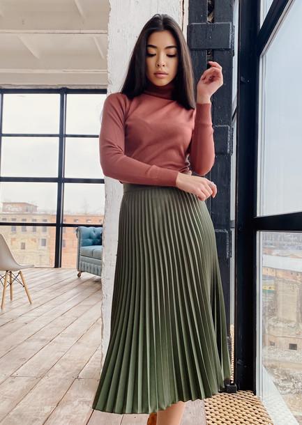 Илона GRAND юбка мох
