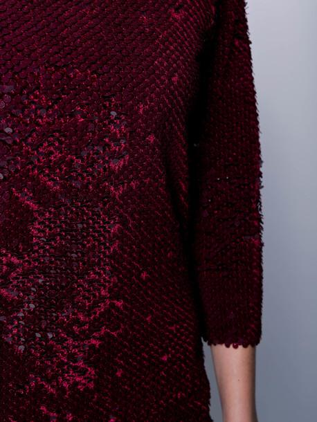 Лючия платье бордовый