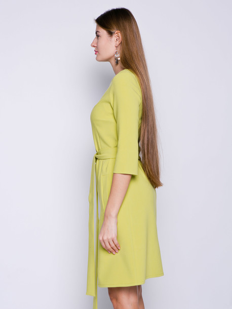 Полина платье вердепешевый