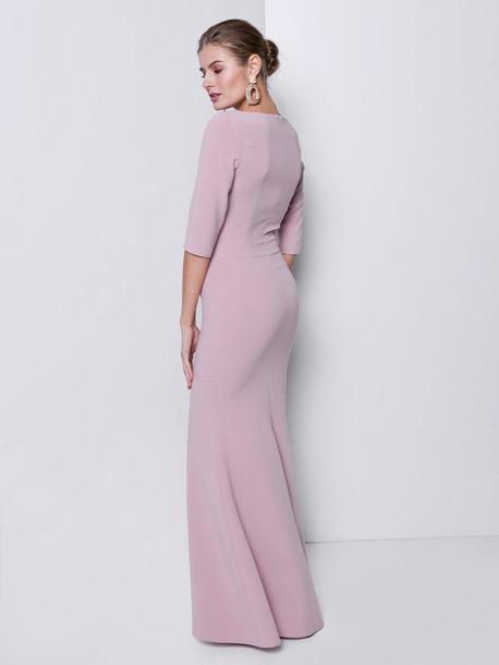 Ингрид платье пудра
