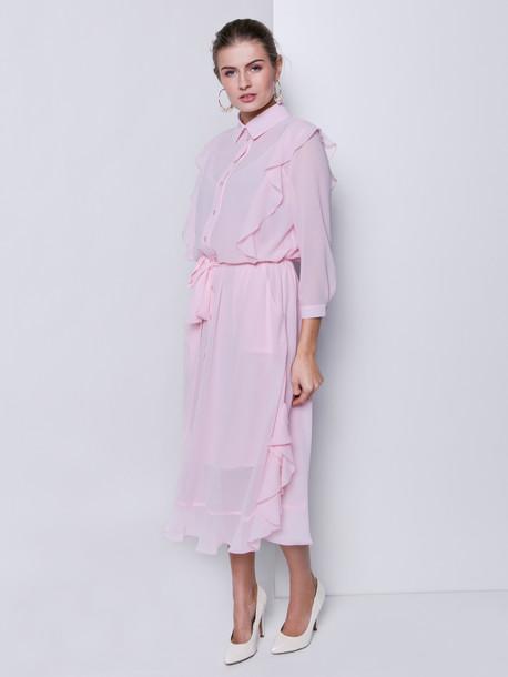 Нимфа GRAND  платье пудра