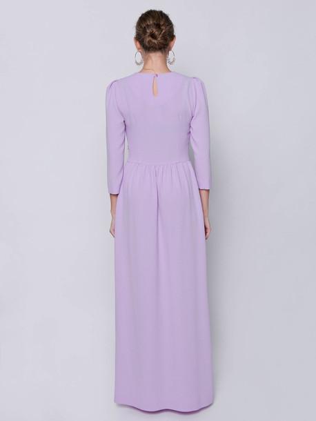 Виолет платье сирень
