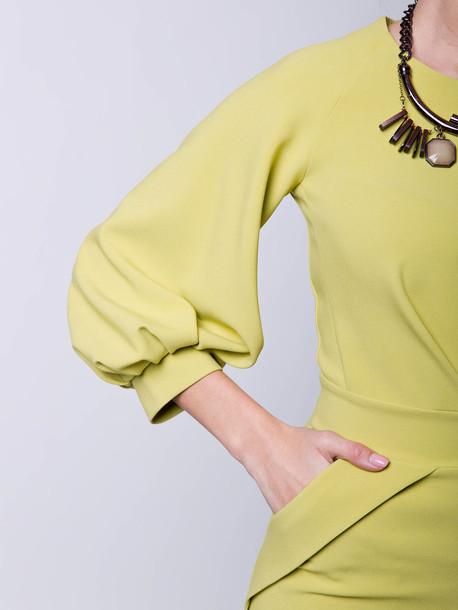 Вивьен  платье вердепешевый