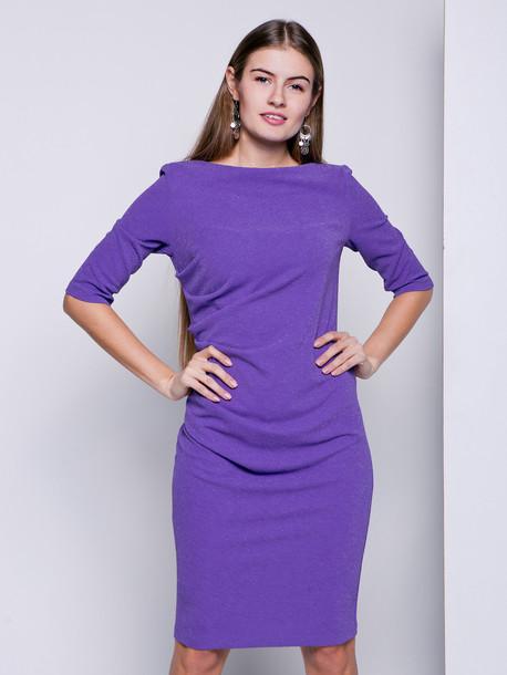 Лэджэр люрекс платье фиолет