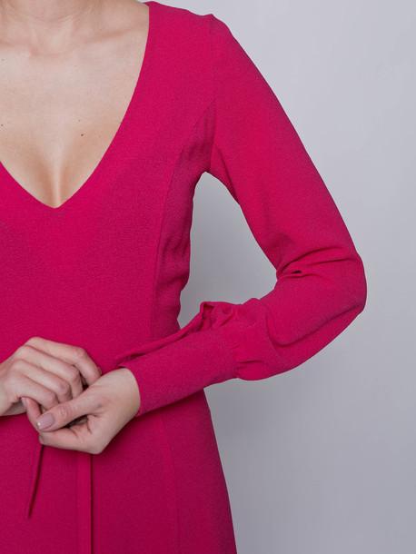 Инес платье малина