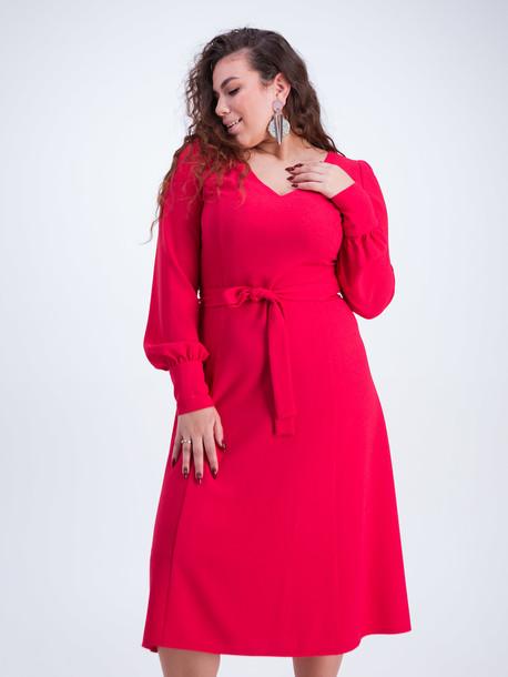 Инес TRAND платье малина