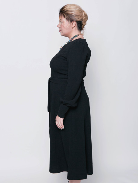 Инес TRAND платье оникс