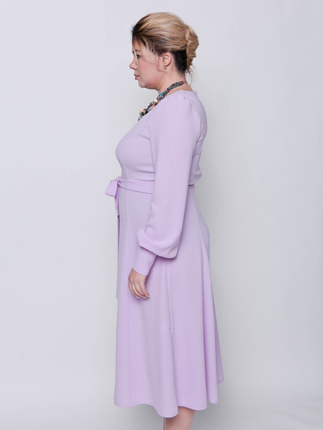 Инес TRAND платье сирень