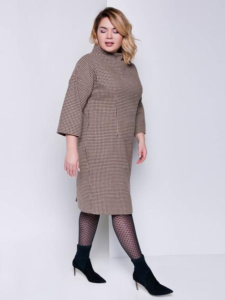 Делла TRAND платье какао
