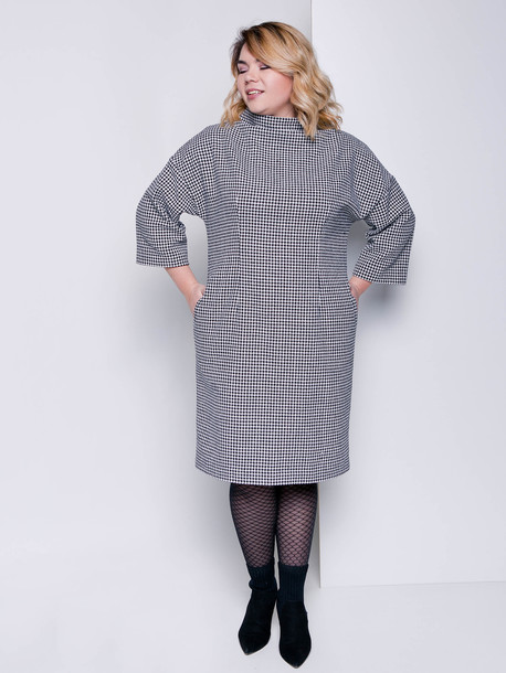 Делла TRAND платье оникс