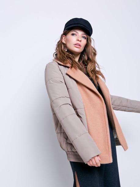 Асия куртка кэмел