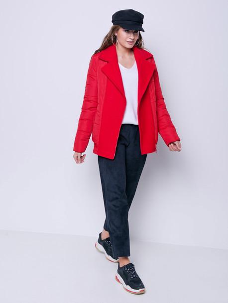 Асия куртка красный